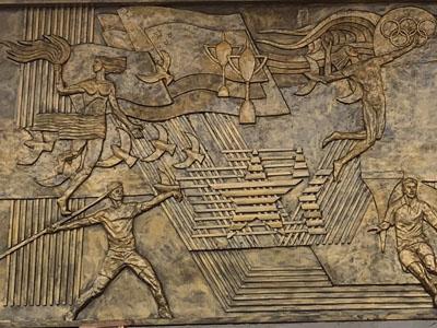 铸铜锻铜球彩台大头作品展示欣赏 山东球彩直播下载地址球彩台大头公司21年5月份制作